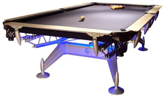 BADASS POOL TABLES LE PAPAYE - Circular pool table